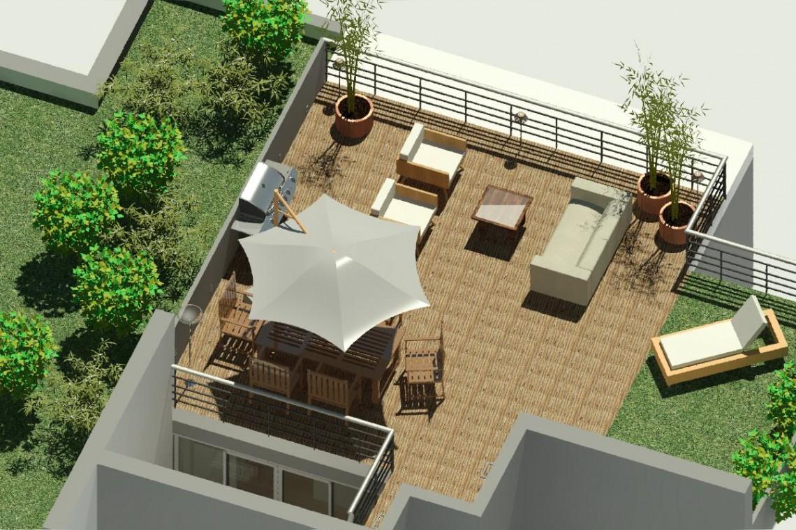 Terrasse de jour