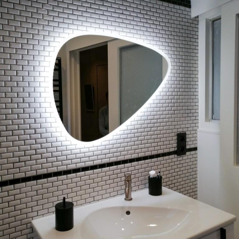 Miroir galet